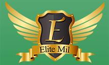 Logomarca Cupom de desconto Elite Mil - Preparatório EsPCEX 2020 Março 2021