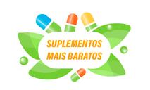Logomarca Cupom de desconto Suplementos Mais Baratos Março 2021