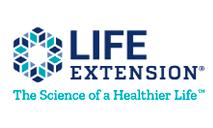 Logomarca Cupom Life Extension, Código de desconto + Envio Grátis Outubro 2021