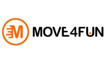 Logomarca Cupom de desconto Move4Fun Março 2021