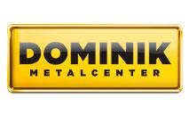 Logomarca Cupom de Desconto Dominik Metal Center Dezembro 2020